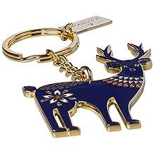Folklore Stag 钥匙圈 - 深蓝色
