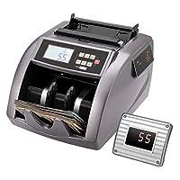 VIVOHOME 计数器 UV/MG/IR 伪造检测票据计数机 带 LED 显示屏 ADD/批次模式 每分钟 900 张钞票