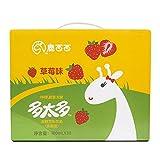 鹿西西 多太多发酵豆乳饮品草莓味 (100ml*5)*6
