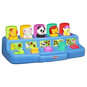 Playskool Play Favorites Busy Poppin' Pals弹出式玩具