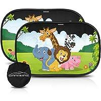 CARAMAZ 婴儿车窗遮阳罩 50.8 厘米 x 30.48 厘米遮阳罩 适用于车窗 Safari