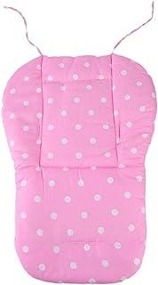 适用于婴儿、幼儿和儿童的 Orbit Baby 手推车和汽车座椅的替换零件/配件 Pink Polka Dot Cushion