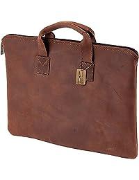Claire Chase 乡村风格对开式 带提手公文包