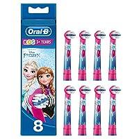Oral-B 歐樂B 兒童電動牙刷替換刷頭,冰雪奇緣圖案,8件裝