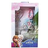 Disney 迪士尼 儿童冰雪奇缘苏菲亚公主礼盒儿童饰品皇冠魔法棒手链套装 DCF1F008-1粉色