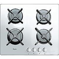 惠而浦燃氣爐灶 帶 4 爐灶AKT6400WH,不銹鋼