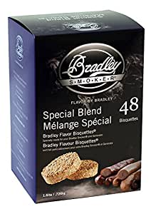 Bradley Technologies Smoker Bisquettes 48 Pack Special 48 Count