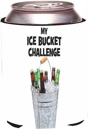 Rikki Knight RKws-KOOZIE-44709My Beer Bucket Challenge-Ice Bucket Challenge Design Beer Can/Soda Drink Cooler Koozie