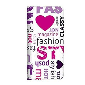 mitas iphone 手机壳318NB-0151-WP/iPhone Xs 1_iPhone (iPhone XS) ホワイトピンク(ベルトなし)