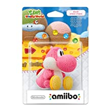amiibo (Nintendo Wii U/3DS) Yarn Yoshi 粉色 粉红色