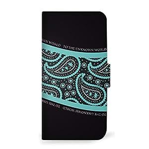 mitas 智能手机壳 手册式 佩斯利 黑色 黑色SC-0326-B/626 18_HTC Desire (626) B