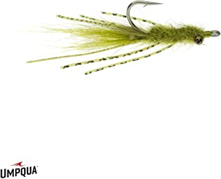 Umpqua Feather Merchants Mantis Shrimp VEVERKA OLV 08-6 PK