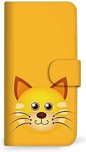mitas iphone ケース298SC-0146-CA/SHL25 4_AQUOS SERIE (SHL25) 猫