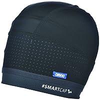 Arena 中性泳帽 Smartcap 游泳(超柔软,发带适合长发,红色点设计*)