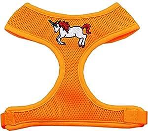 Mirage Pet Products 彩虹和平标志筹码胸背带,大号,红色