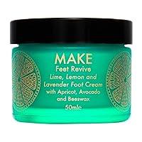 Make 护肤品 feet REVIVE 绿黄色,柠檬和薰衣草滋润特效