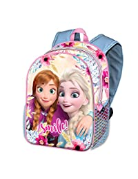 Karactermania Frozen Smile-Basic 背包儿童背包,40 厘米,18.2 升,多种颜色