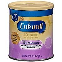 Enfamil 温和婴儿*奶粉含铁粉 - 12.4 盎司,2 件装