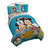 Disney Tsum Tsum Mash Up Teal Twin/Full Reversible Comforter