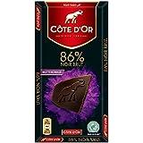 Cote D'or克特多金象86%可可黑巧克力--排装100g(比利时进口)