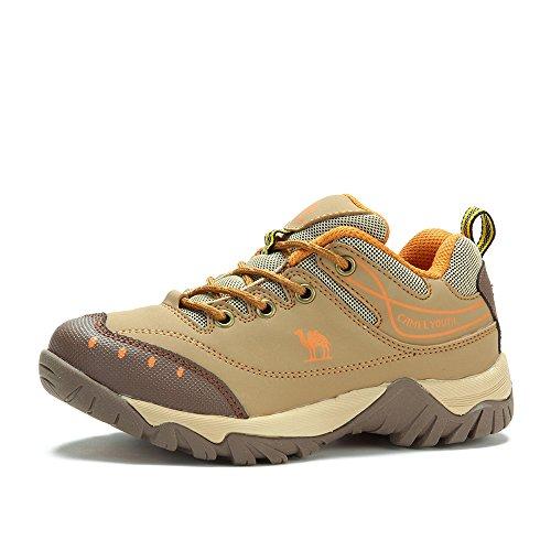 【清仓惠】Camel 骆驼 户外登山徒步鞋 儿童款低帮耐磨户外鞋子A443300153