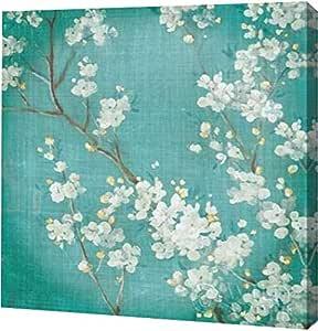 "PrintArt GW-POD-38-13841-36x36 ""White Cherry Blossoms II"" 来自 Danhui Nai 画廊装裱艺术微喷油画艺术印刷品,91.44 cm x 91.44 cm"