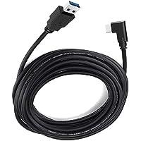 Oculus Quest Link 电缆 16 英尺,dethinton Quest Link 电缆 高速数据传输 & 快速充电 USB C 电缆 兼容 Oculus Quest 耳机和游戏电脑