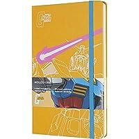 Moleskine 限量版 Gundam 筆記本,硬質外殼,大號(12.7 厘米 x 20.32 厘米)規則/內襯,橙黃色