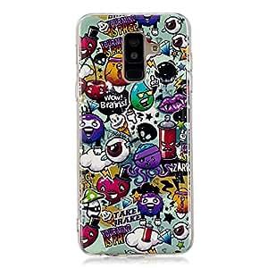 Galaxy A6 Plus 2018手机壳,夜光夜光保护壳匹配设计保护手机后盖 TPU 外壳保护套适用于三星 Galaxy A6 Plus (2018) garbag