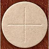 一盒 50 张:整颗小麦面粉,Alter 面包,2 3/4 英寸直径教堂仪式,圣餐夫主人