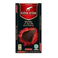 Cote D'or克特多金象70% 可可黑巧克力-排装100g(比利时进口)