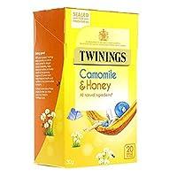 Twinings川宁果味茶包 洋甘菊蜂蜜香草(1.5g*20)30g (英国进口)