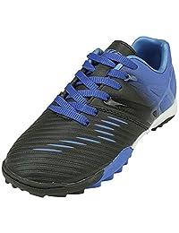 Vizari 中性款 Liga TF 尺码足球鞋,蓝色/黑色,5.5 常规美国大童