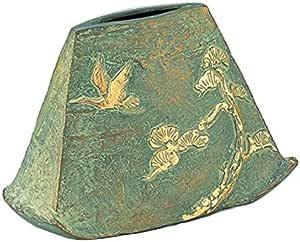 竹中銅器铜 あけぼの 花瓶104–56