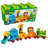 【NEW 上新 1月新品】 LEGO 乐高 拼插类玩具 DUPLO 得宝系列 我的创意动物大巡游 10863 1½-3岁 积木玩具