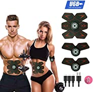 MOORAY 运动腹部训练器 终极腹部训练器 腹部训练器 男士女士 锻炼 广告功率 训练 健身 锻炼设备 便携式训练 腹部带