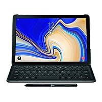 Samsung Electronics EJ-FT830UBEGUJ Galaxy Tab S4 书籍封面键盘,黑色