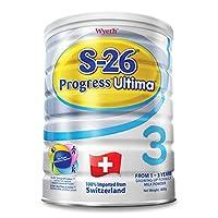 港版惠氏 Wyeth铂臻S-26 Ultima 婴幼儿奶粉3段 (1-3岁) 800克包邮包税【跨境自营】