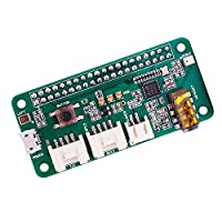 Yahboom ReSpeaker 2-Mics Pi HAT 2 麦克风音箱扩展板 wm8960 适用于 AI 和语音应用 适用于 Raspberry Pi 3B+/3B/2B/1B+/零 W/DIY 智能扬声器