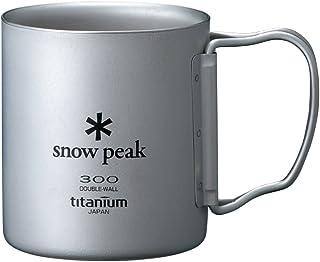 SNOW peak 鈦合金雙層杯