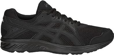 ASICS Jolt 2 男士跑步鞋 黑色/深灰色 8.5 XW US