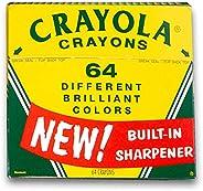 Crayola 绘儿乐 六十周年纪念套装,马口铁盒装蜡笔,64支