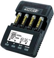 Powerex Maha MH-C9000 Wizard One 充电器-分析仪,适用于4 个 AA / AAA 电池