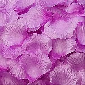 Magik 1000~5000 件丝绸花玫瑰花瓣婚礼派对意大利面桌装饰,各种选择 Warm Purple 1000 43219-77068
