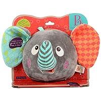 B.toys 爱搞怪的大象 毛绒发声玩偶 多种音效 生日礼物 婴幼儿童益智玩具 礼物 0岁+ BX1588Z