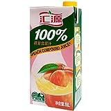 汇源100%桃汁1Lx12盒