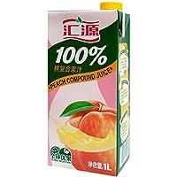 汇源***桃汁1Lx12盒 (17年12月生产 )保质期 12个月 汇源出品