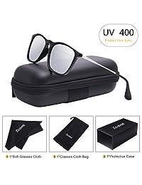 太阳镜 男式新西兰方形偏光太阳镜 HD Vision 防眩光镜片 UV 400 防护