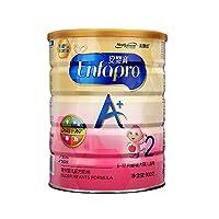 美赞臣(Mead Johnson)安儿宝较大婴儿配方奶粉(6-12月龄.2段) 900克罐装(新老包装交替)