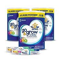 Similac 雅培 Go & Grow 婴幼儿奶粉,3罐装,每罐36盎司(1.02kg),送2袋便捷体验装赠品(部分库存有效期至2019年5月1日)
